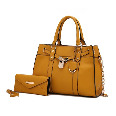 MKF Collection Christine Satchel & Wallet by Mia K.
