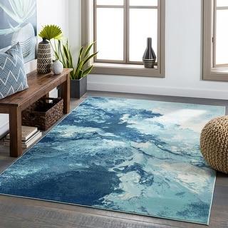 Terra Indoor/ Outdoor Modern Abstract Area Rug