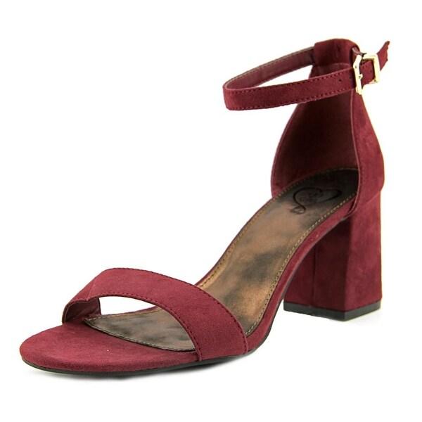 143 Girl Newsie Open-Toe Synthetic Heels
