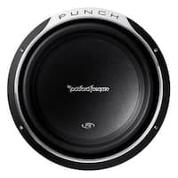 Rockford Fosgate P3S 12-in shallow mount subwoofer delivers Punch even when depth is limited. The P3