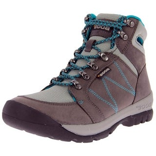 Bogs Outdoor Boots Womens Bend Mid Nubuck Mesh Hiking Anti Slip