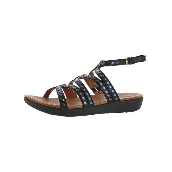 759d586e9105c Shop Fitflop Womens Strata Gladiator Sandals Leather Whipstitch ...