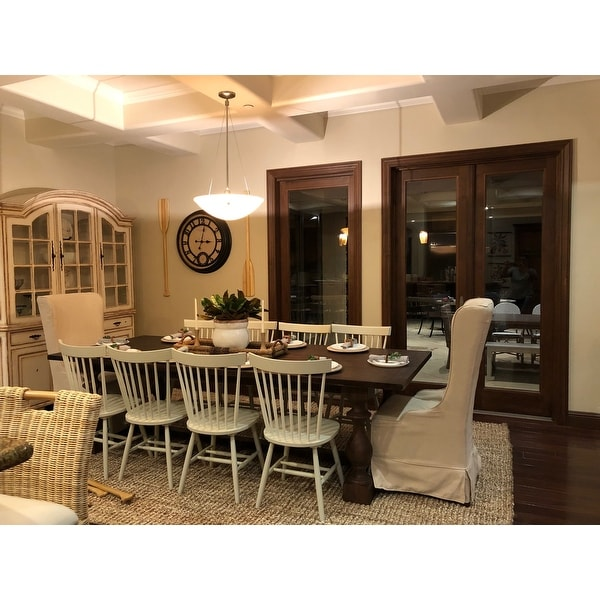 Safavieh Dining Country Lifestyle Spindle Back Off White Dining Chairs Set Of 2 20 5 X 21 X 36 On Sale Overstock 6423295