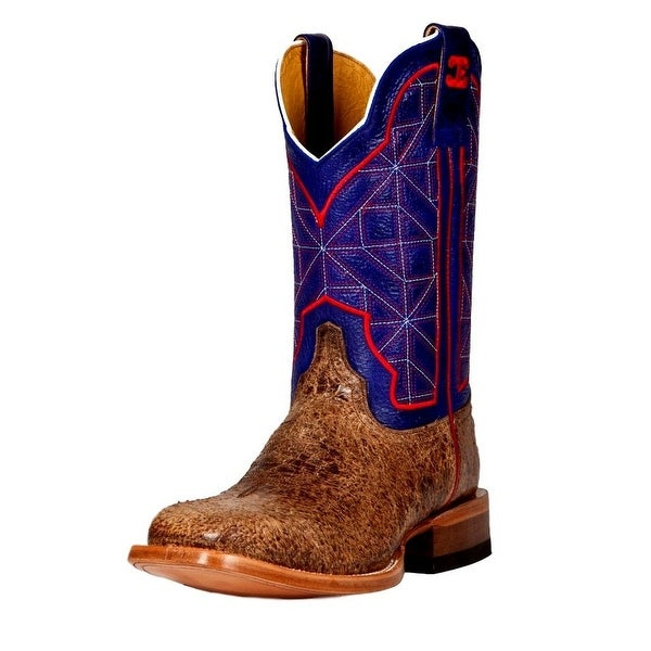 Cinch Western Boots Mens Edge Square Arapo Cowboy Brown
