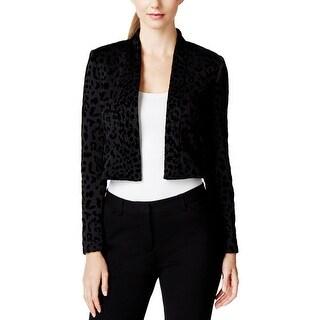 Calvin Klein Womens Bolero, Shrug Printed Long Sleeves