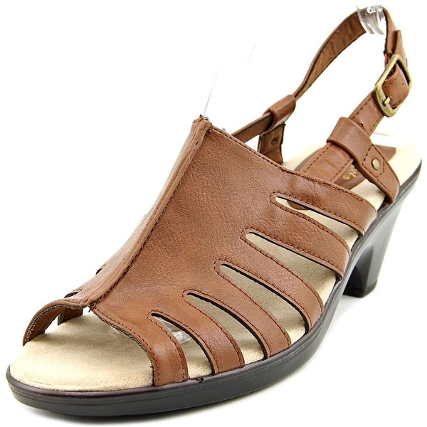 Easy Street Kacia Open-Toe Synthetic Slingback Sandal