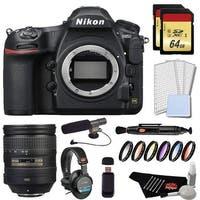 Nikon D850 DSLR Camera Platinum Bundle + Nikon AF-S NIKKOR 28-300mm f/3.5-5.6G ED VR Lens (Intl Model)
