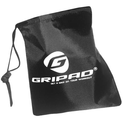 """Gripad 7"""" x 6.5"""" Nylon Sports Accessories Storage Pouch - Black - One Size"""