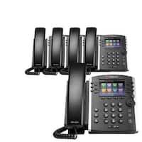 Polycom VVX 400 (5-Pack) 12-line Mid-Range Business Media Phone with Color Display