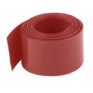 18.5mm Diameter 5M Length PVC Heat Shrink Tube Tubing Battery Wrap Red