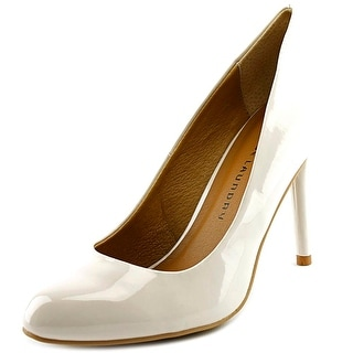 Chinese Laundry Palace Round Toe Synthetic Heels