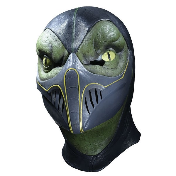 adult reptile mortal kombat deluxe latex halloween mask