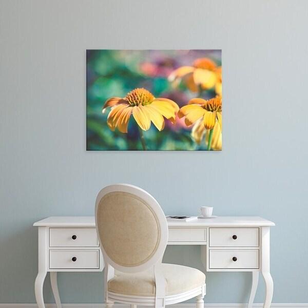 Easy Art Prints Sonja Quintero's 'Mellow Yellows II' Premium Canvas Art