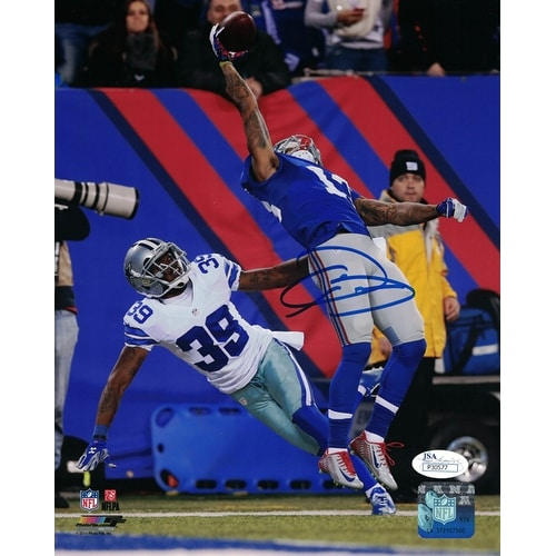 Shop Odell Beckham Jr Autographed New York Giants 8x10 Photo The Catch  Vertical JSA - Free Shipping Today - Overstock - 14302845 7d0bcd0ff