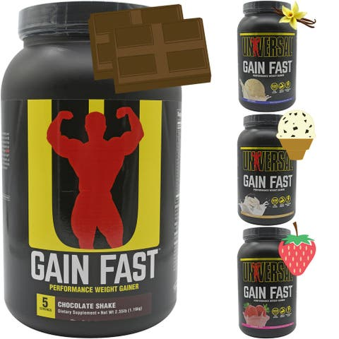 Universal Nutrition Gain Fast - 5 Servings - Performance Weight Gainer - 5 Servings
