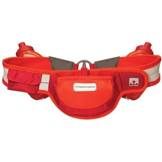 Nathan Speed 2R Auto-Cant Hydration Waist Pack Belt - Tango Red/Tangerine