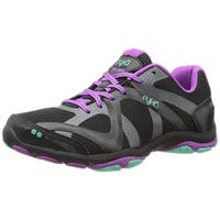 Ryka Womens influnce Low Top Lace Up Running Sneaker