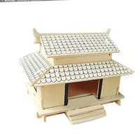 3D NiceJapanese House Model Toy Woodcraft Construction Kit