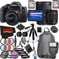 Canon EOS Rebel T6i DSLR Camera with 18-55mm Lens (Intl Model) and Canon EF 16-35mm f/4L IS USM Lens