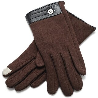 Mad Style Metro Texting Gloves - Brown