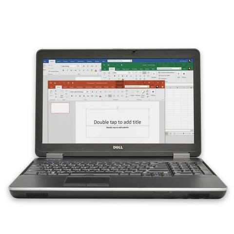 "Dell E6540 Laptop Computer 15.6"" Full-HD i7 4GB RAM 500GB Windows 10 Grade B"