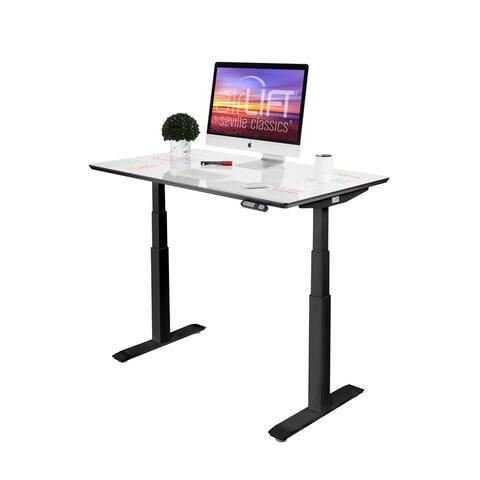 "AIRLIFT Pro S3 54"" Dry-Erase Top Adjustable Standing Desk, 54 x 28"""