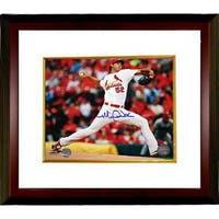 Michael Wacha signed St Louis Cardinals 8x10 Photo Custom Framed white jersey