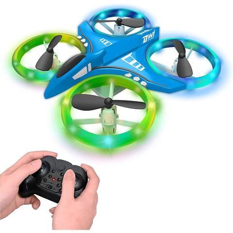 Mini Drone for Kids Crash Proof LED Night Lights Take Off Landing Flip