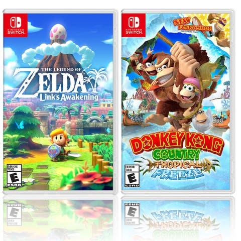 Nintendo The Legend of Zelda: Links Awakening Bundle with Donkey Kong - Black