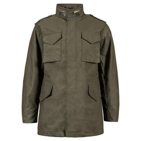 Alpha M65 Field Jacket, Manufactured to military specifications, Olive Drab, Large