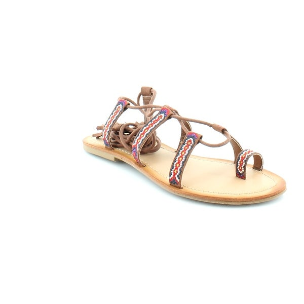 Madden Girl Saz Women's Sandals & Flip Flops Chestnut Mul