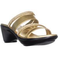 callisto Viera Slip On Wedge Sandals, Gold