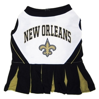 Shop NFL New Orleans Saints Cheerleader Dress For Dogs And Cats - Free  Shipping On Orders Over  45 - Overstock - 19991372 a94e2c107
