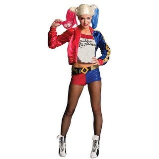 Womens Sexy Harley Quinn Suicide Squad Costume