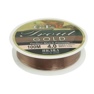 Unique Bargains 109Yds/100M 0.32mm 22 lbs Nylon Spool Fishing Line