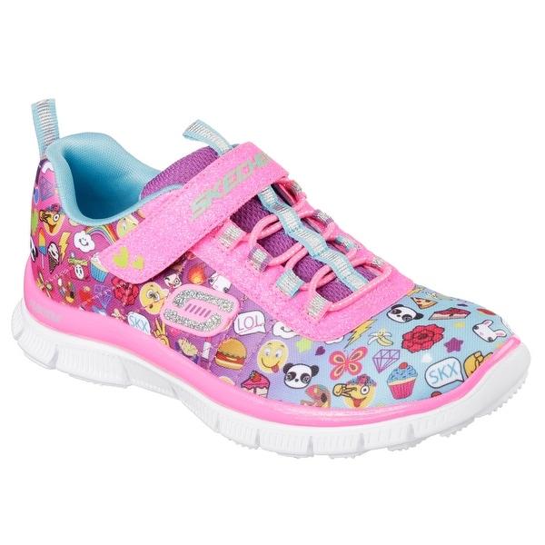 Skechers 81841 MLT Girl's Toddler SKECH APPEAL - PIXEL PRINCESS Sneakers