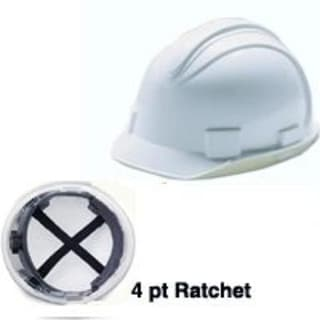 Jackson Safety 3013362 Charger Hardhat Security Helmet, White
