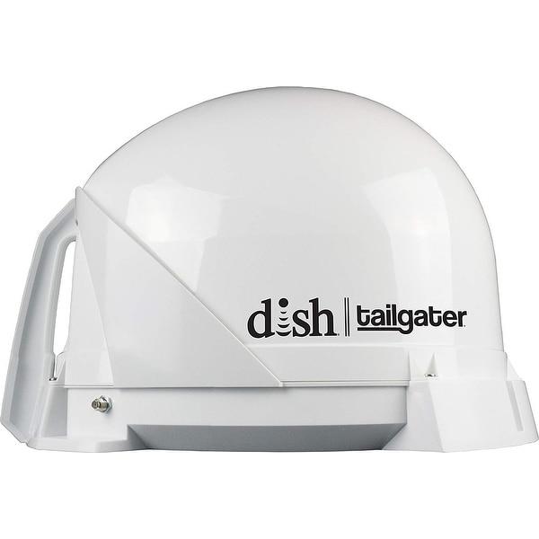Tailgater Sat Tv Antenna, Dish, White