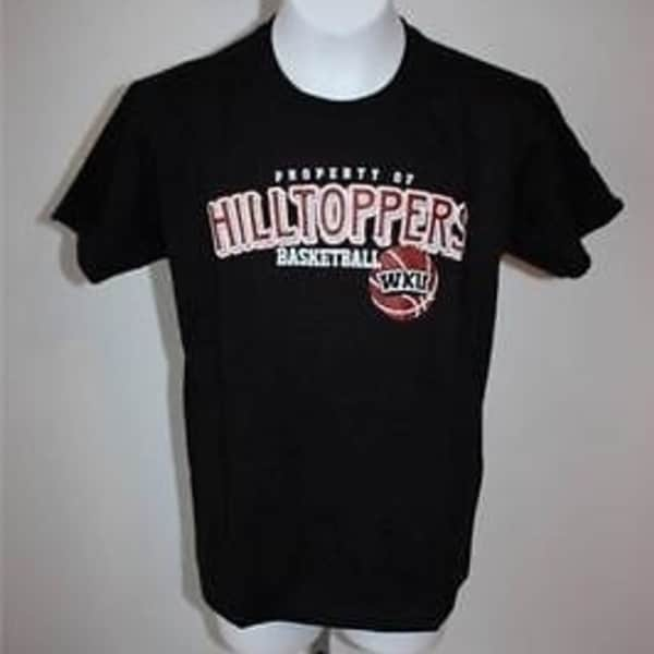 WESTERN KENTUCKY HILLTOPPERS BASKETBALL YOUTH LARGE L T-Shirt 29JA