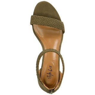 Link to Style & Co. Womens Patty Open Toe Casual Ankle Strap Sandals Similar Items in Women's Shoes