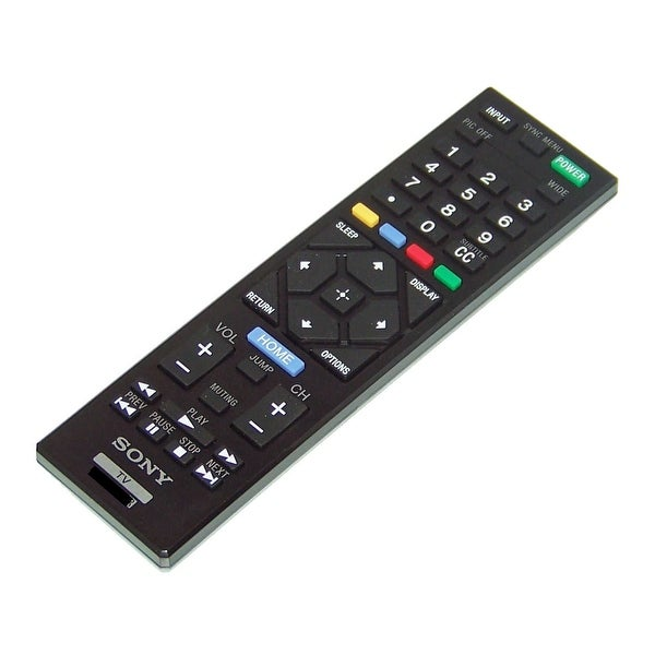 OEM Sony Remote Control Originally Shipped With: KDL40R380B, KDL-40R380B, KDL32R400, KDL-32R400, KDL50R450, KDL-50R450