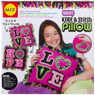 Giant Knot & Stitch Pillow Kit-