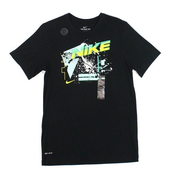 Nike Dri Fit Black T-shirt Size Large Activewear