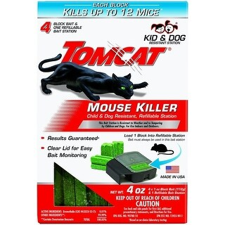 Tomcat 0371710 Refillable Mouse Bait Station