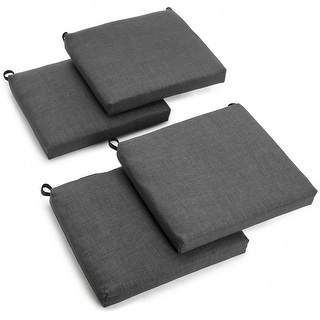 Link to Blazing Needles 20-inch Indoor/Outdoor Chair Cushion (Set of 4) Similar Items in Outdoor Cushions & Pillows