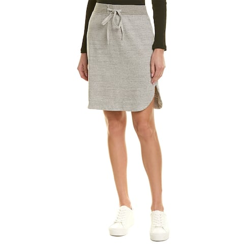 James Perse Pull-On Fleece Skirt - HGY