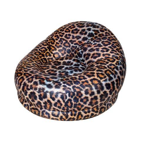 City Chair - Leopard Safari Print