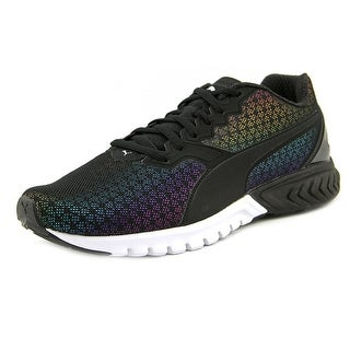Puma Ignite Dual Prism Round Toe Synthetic Running Shoe