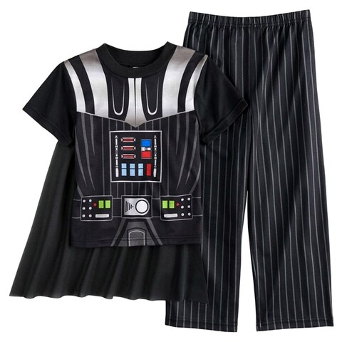 Star Wars Darth Vader Caped Boys Pajamas