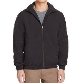 Zanerobe Black Gray Mens Size Large L Full-Zip Windbreaker Jacket